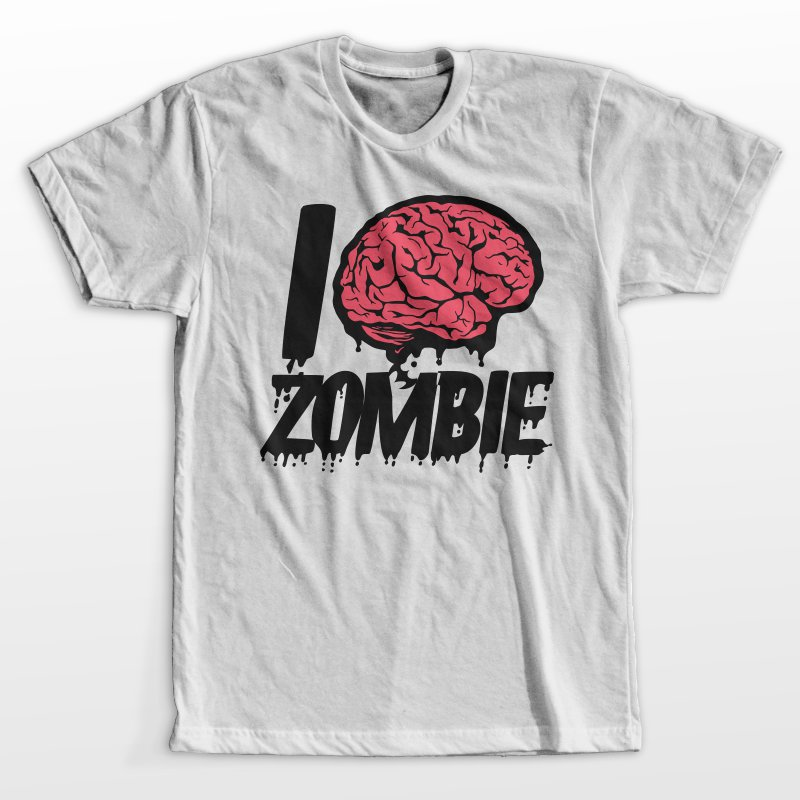 I love zombie t shirt designs for teespring