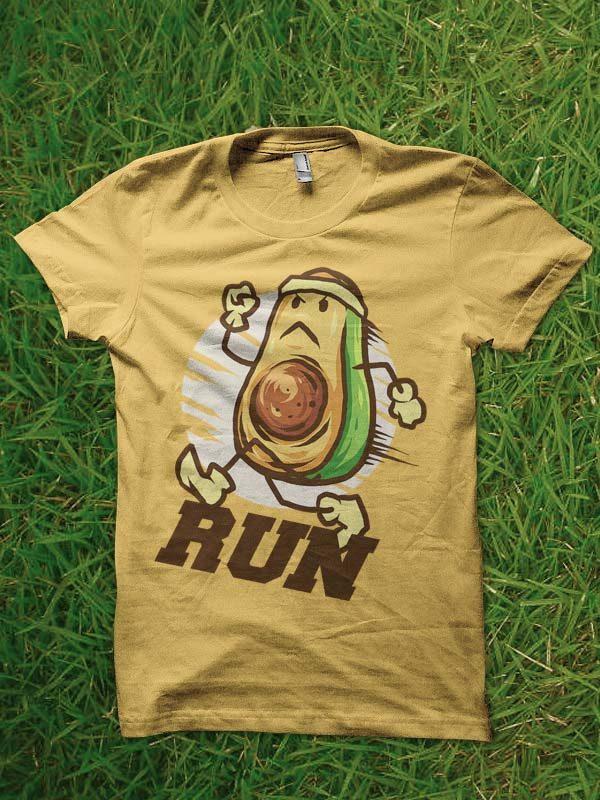 run tshirt design t shirt designs for printful
