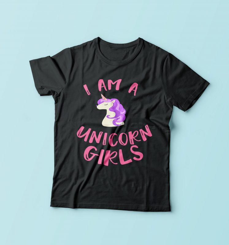 I'm Unicorn Girls buy tshirt design