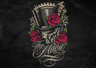 The Magic t shirt designs for sale