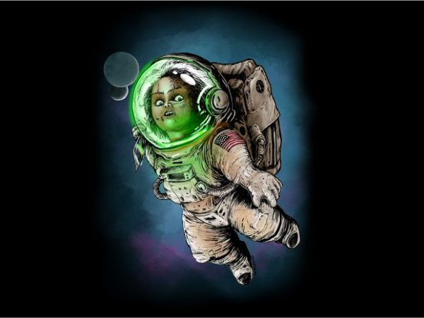 Baby Astronot t shirt design to buy