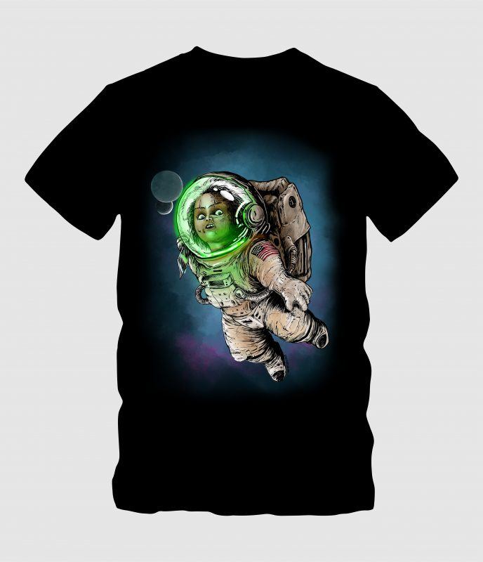 Baby Astronot buy t shirt design