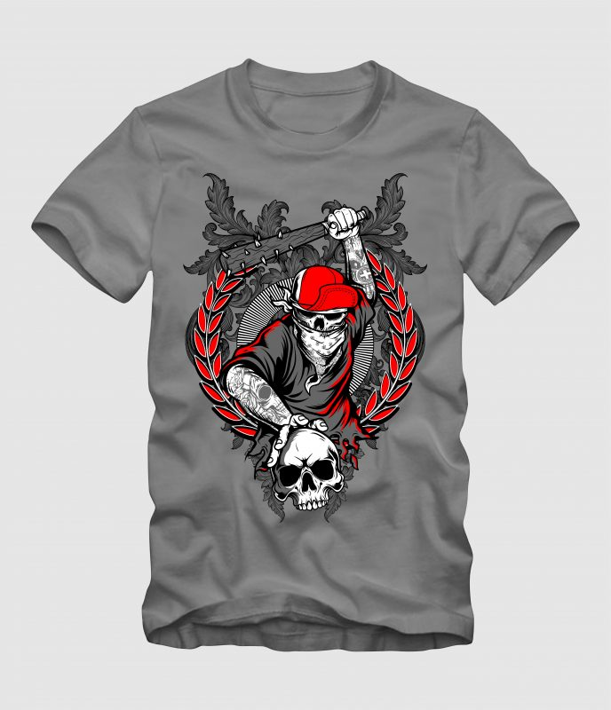 Skull Holigans tshirt factory