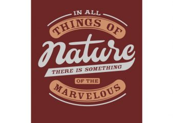 Nature t shirt design for purchase