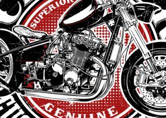 Chopper custom works buy t shirt design artwork