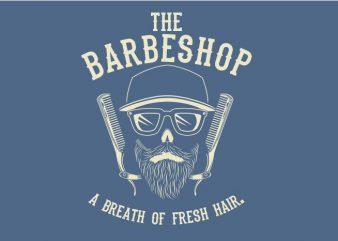 A Breath of Fresh Hair t shirt vector