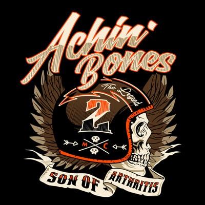 ACHIN BONE print ready shirt design