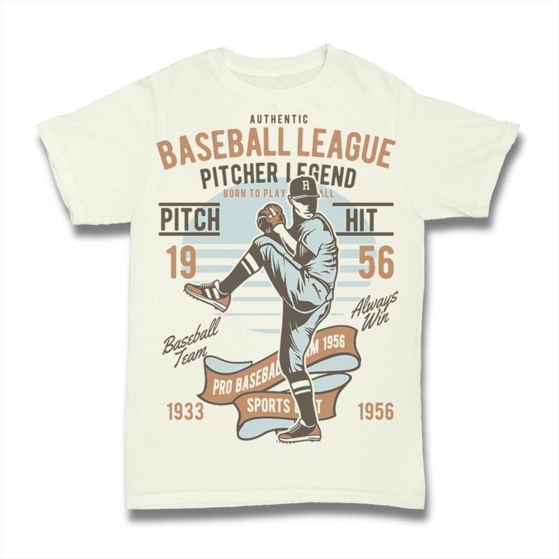 Baseball League tshirt factory
