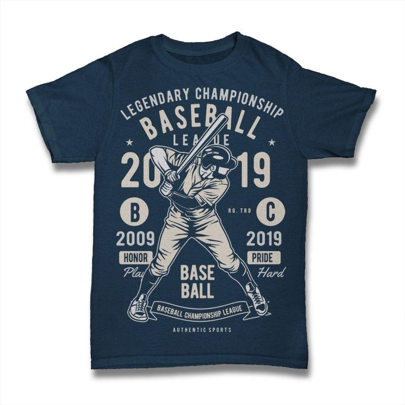 Baseball t shirt design graphic