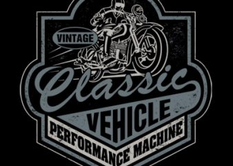 CLASSIC VEHICLE vector t shirt design for download