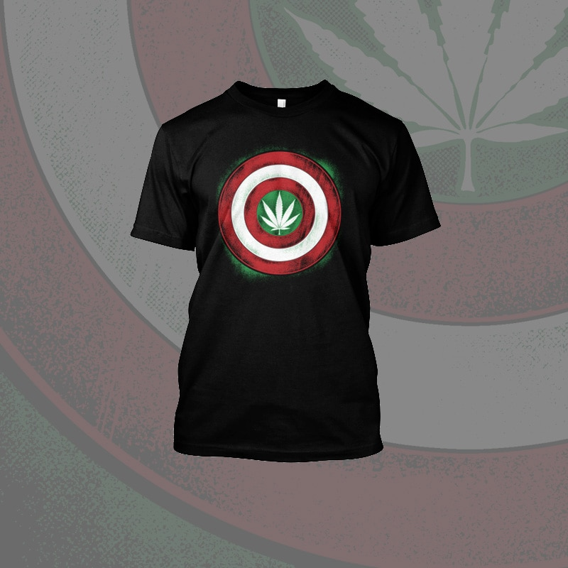 Capt 'Merijuana tshirt-factory.com