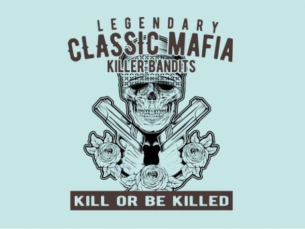 Classic Mafia t shirt design to buy