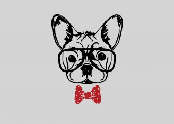 Dog Bandana t shirt vector illustration