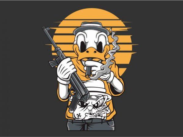 The Duck Mafia t shirt designs for sale
