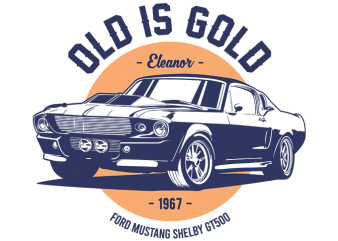 OLD is GOLD t shirt design to buy
