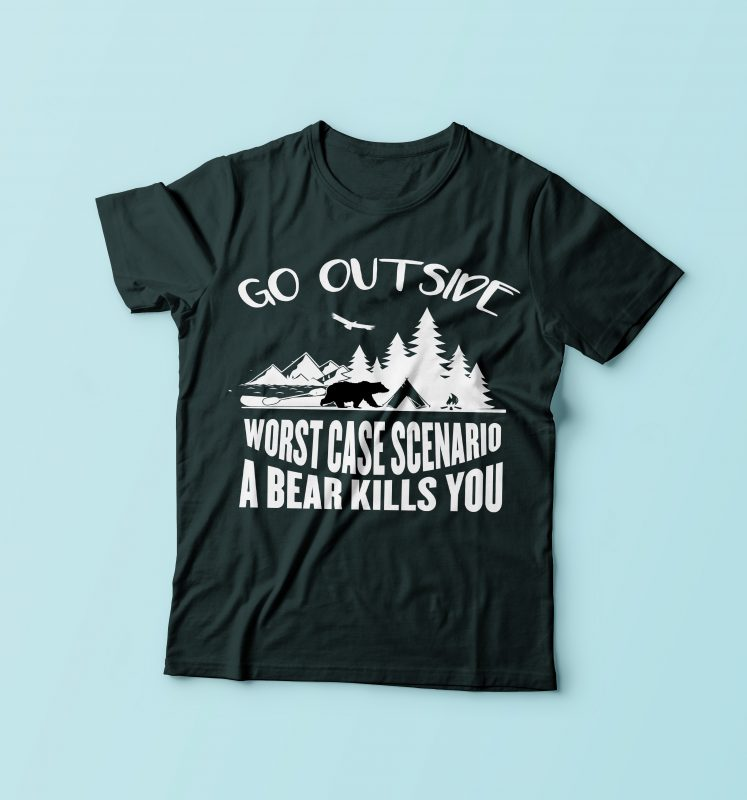 Go Outside t shirt designs for teespring