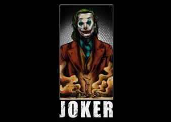 Joker 2019 T-Shirt Design