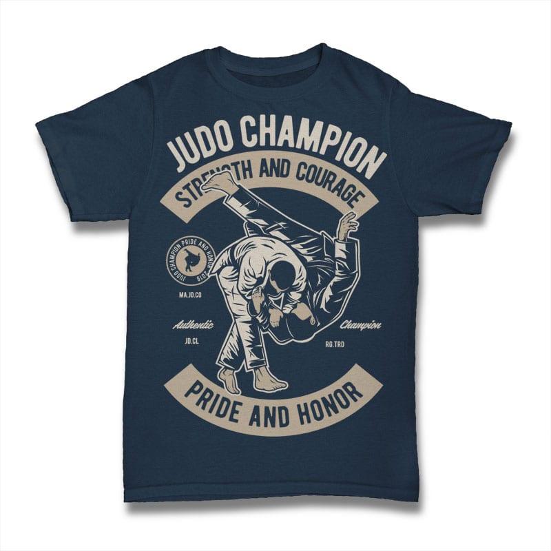 Judo tshirt design for sale