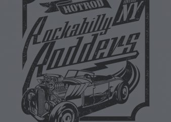 RODDERS commercial use t-shirt design