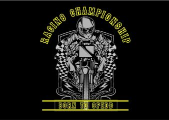 Racing Champhoinship t shirt design online