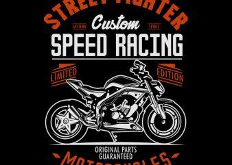 STREET FIGHTER vector shirt design