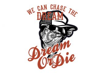 The Dream graphic t-shirt design