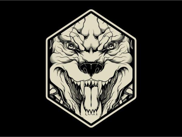 The Pitbull graphic t-shirt design