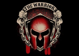 The Warrior t shirt designs for sale