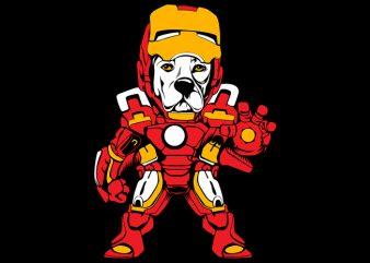 Ironbull t shirt design for sale