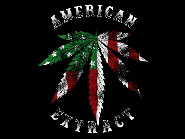 American Extract buy t shirt design