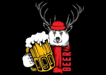 Beer design for t shirt