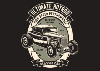 Ultimate Hotrod buy t shirt design