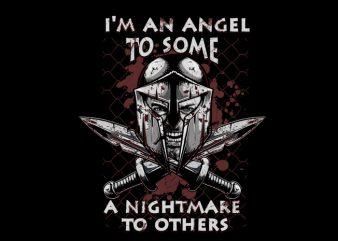 spartan Vector t-shirt design