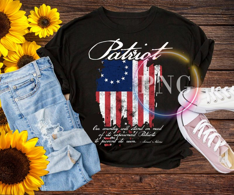 Patriot America Flag Life, Liberty, and the Pursuit of Happiness Betsy Ross Flag T-Shirt buy t shirt designs artwork