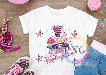 Ready Kindergarten T shirt Design PNG