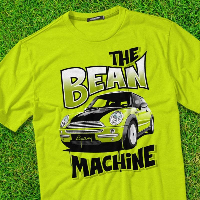 BEAN MACHINE t shirt designs for sale