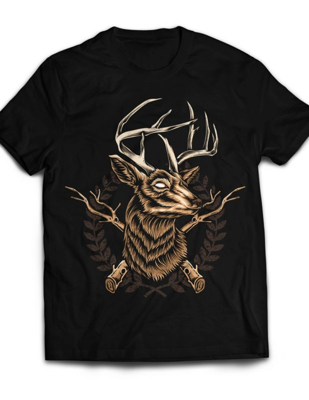 Deer Hunter buy t shirt designs artwork