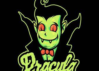 dracula tshirt design