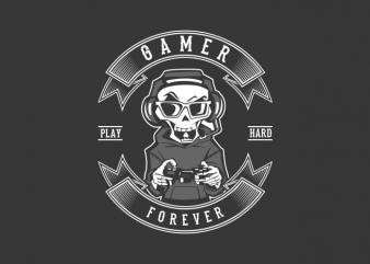 gamer forever buy t shirt design