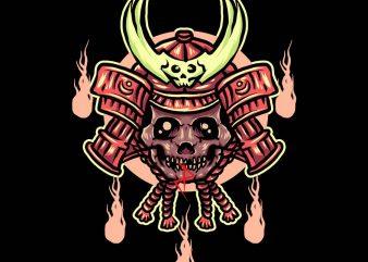 zombie ronin tshirt design