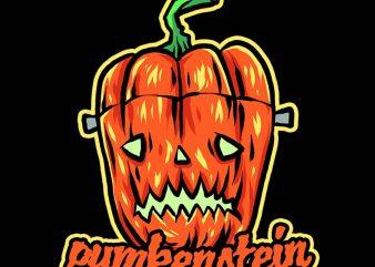 pumkenstein tshirt designh