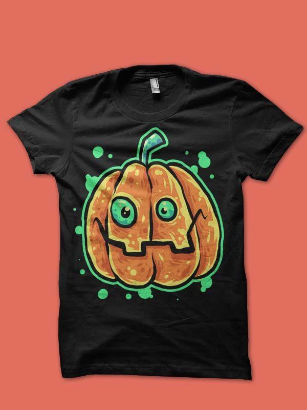 pumkin smile tshirt design t shirt designs for teespring