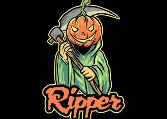 ripper tshirt design