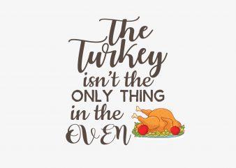 The Turkey t shirt design png