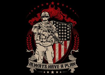 Us Army t shirt design for sale
