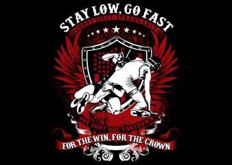 Wrestler t shirt design for sale