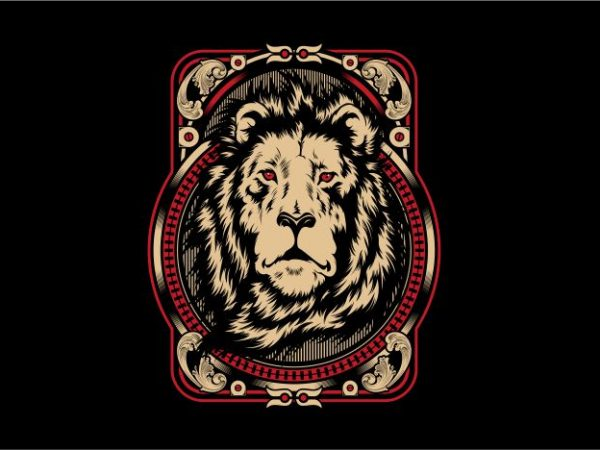 The King Of Jungle t shirt designs for sale