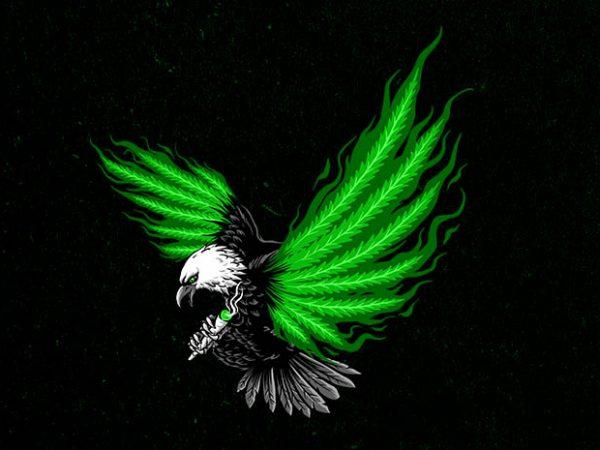 flying hunter Graphic t-shirt design