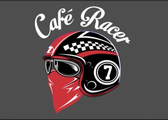 It's Cafe Racer t shirt design for sale