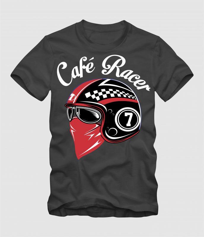 It's Cafe Racer buy tshirt design
